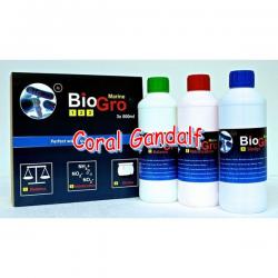 BioGro Marine 1-2-3 (DVH), bacterias para acuarios marinos, 3 x 500 ml